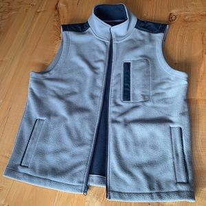 NWOT Brooks Brothers Fleece Vest Large